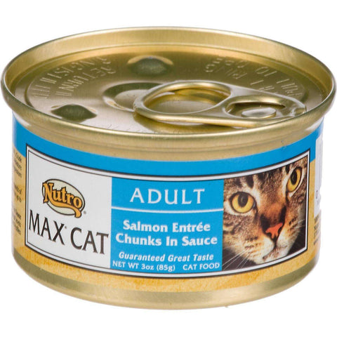 Max Canned Cat Food Salmon, Canned Cat Food, Nutro Pet Products - PetMax