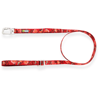 Be One Breed Silicone Leash Red Garden  Leashes - PetMax