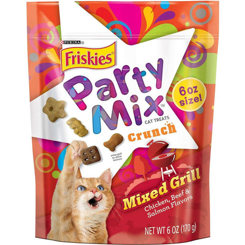 Friskies Party Mix Mixed Grill, Cat Treats, Nestle Purina PetCare - PetMax