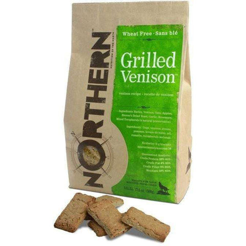 Northern Biscuits Grilled Venison, Dog Treats, Northern Pet Products Inc. - PetMax Canada