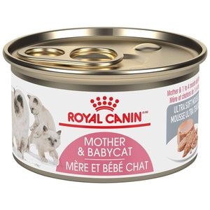 Royal Canin Canned Cat Food Mother & Babycat Ultra Soft Mousse  Canned Cat Food - PetMax