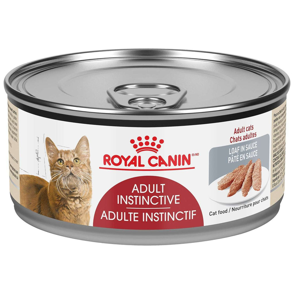 Royal Canin Canned Cat Food Adult Instinctive Loaf In Sauce  Canned Cat Food - PetMax