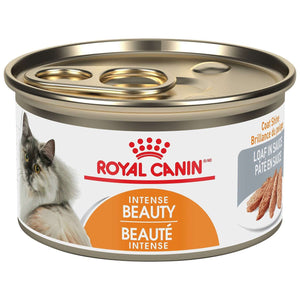 Royal Canin Canned Cat Food Intense Beauty Loaf In Sauce 85g Canned Cat Food - PetMax