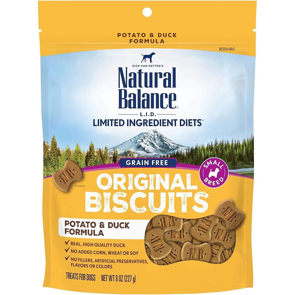 Natural Balance Dog Treats L.I.T. Potato & Duck 227g Dog Treats - PetMax