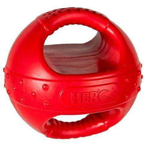 Hero Handle Ball With Squeaker, Dog Toys, Manchester Pet Supplies - PetMax Canada