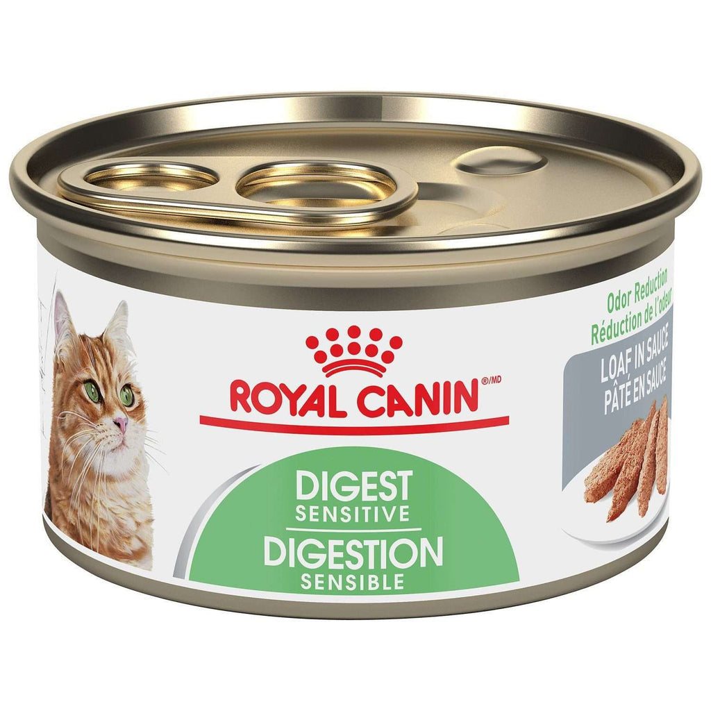 Royal Canin Canned Cat Food Digest Sensitive Loaf In Sauce 85g Canned Cat Food - PetMax