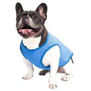 Go Fresh Pet Cooling Ice Vest Blue