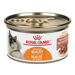 Royal Canin Canned Cat Food Adult Intense Beauty Thin Slices In Gravy  Canned Cat Food - PetMax