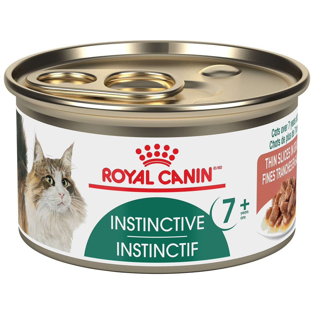 Royal Canin Canned Cat Food Instinctive 7+ Thin Slices In Gravy  Canned Cat Food - PetMax