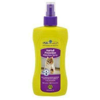 Furminator Cat Hairball Prevention Waterless Spray, Cat Grooming, Furminator Inc. - PetMax Canada