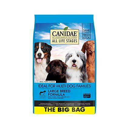 Canidae Dog Food All Life Stages Large Breed Adult Turkey
