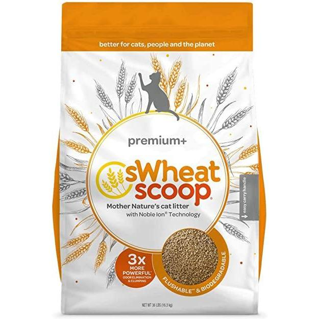 Swheat Scoop Premium Plus Cat Litter  Cat Litter - PetMax