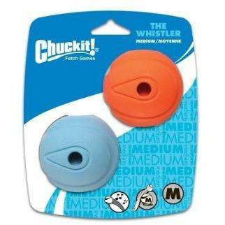 Chuck It Whistler Ball  Dog Toys - PetMax