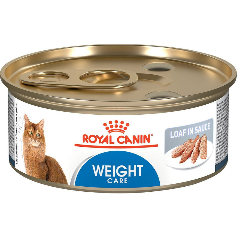 Royal Canin Canned Cat Food Adult Weight Care Loaf In Sauce 145g Canned Cat Food - PetMax