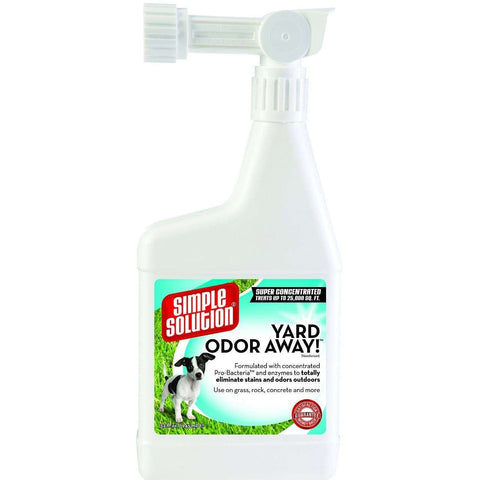 Simple Solution Yard Odor Away Spray, Stain & Odor, Simple Solution - PetMax