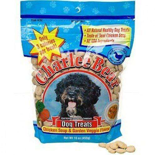Charlee Bear Dog Treats Chicken Soup & Garden Veggie | Dog Treats -  pet-max.myshopify.com