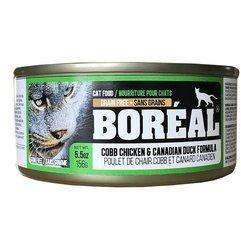 Boreal Canned Cat Food Adult Cobb Chicken & Canadian Duck, Canned Cat Food, Boreal Pet Food - PetMax