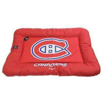 NHL Montreal Canadiens Dog Bed, Dog Beds, Pet $ave - PetMax Canada
