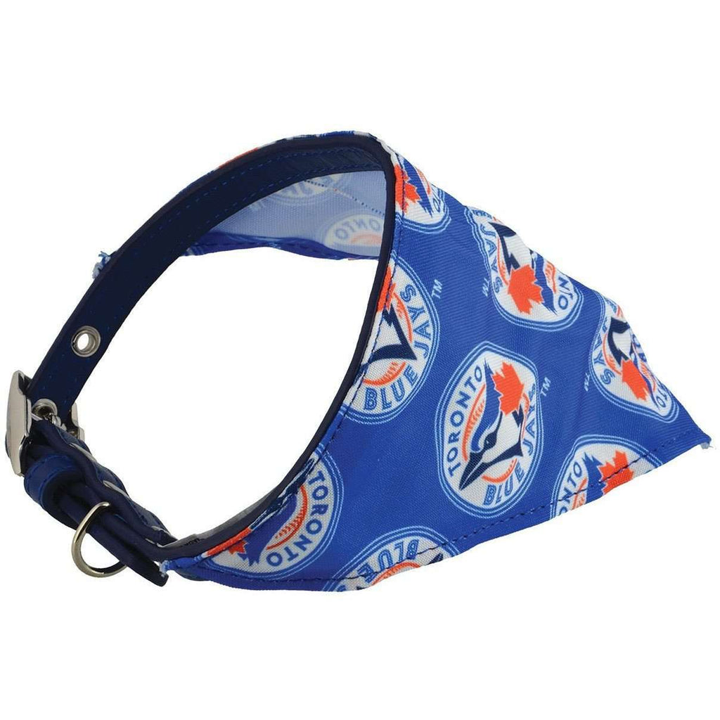 Toronto Blue Jays Bandana Collar, Dog Clothing, Pet $ave - PetMax Canada
