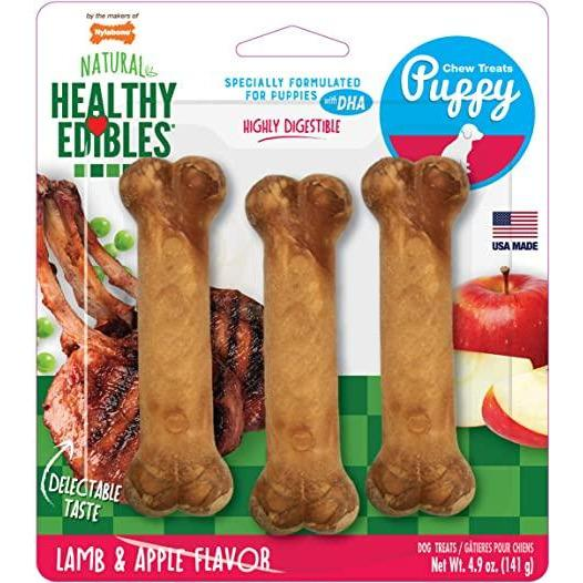 Nylabone Puppy Healthy Edibles  Chew Products - PetMax