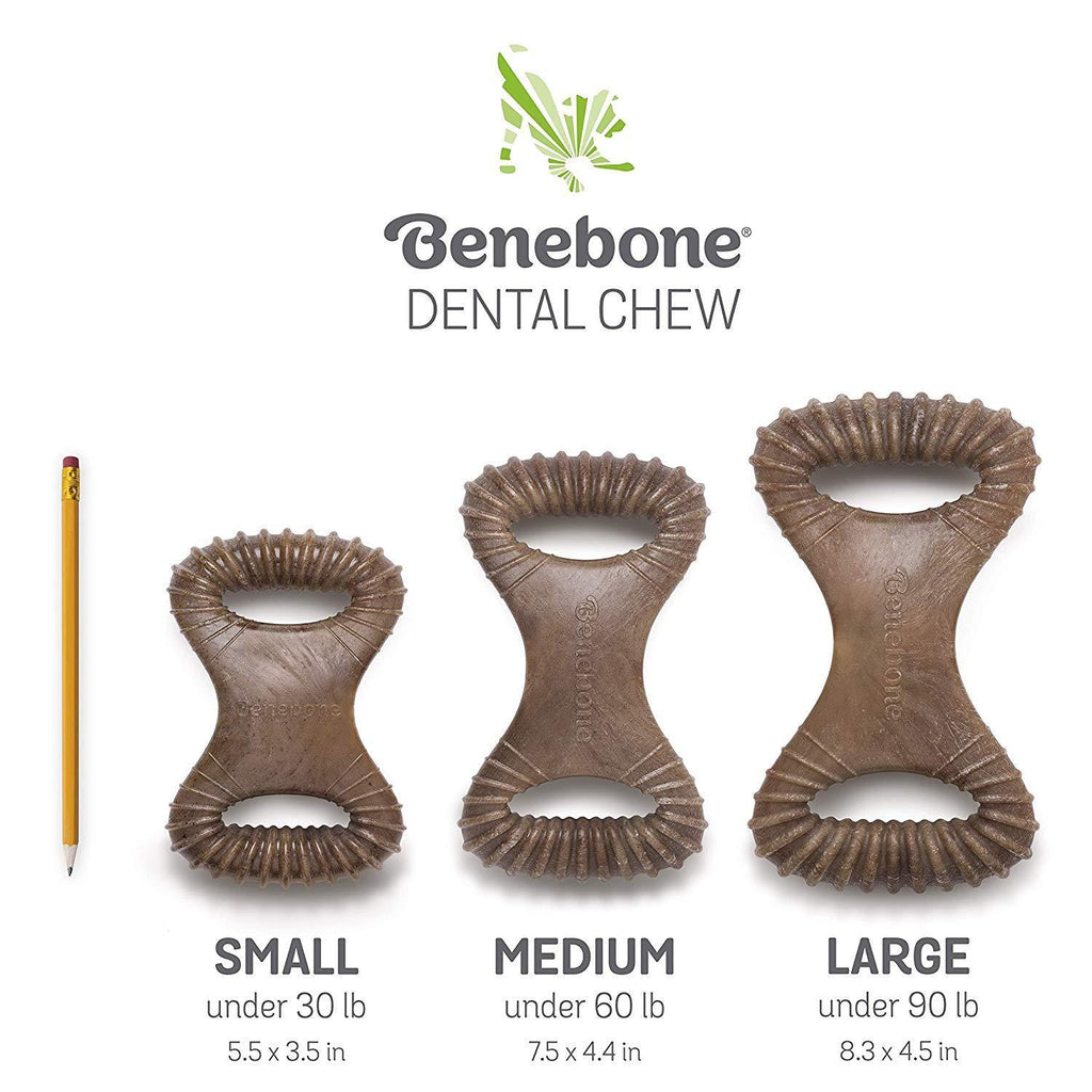 Benebone Rocking Dental Chew Bacon  Chew Products - PetMax