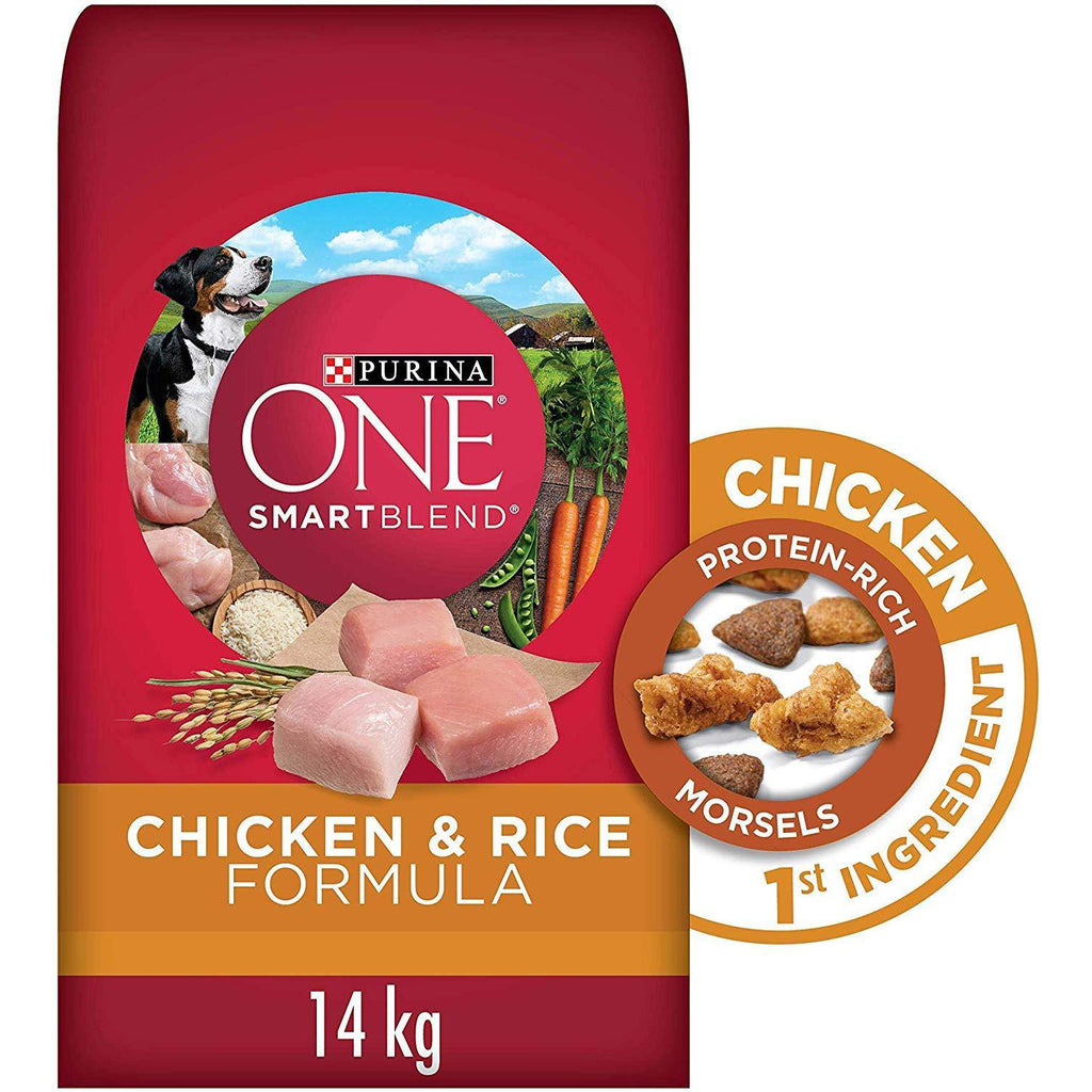 Purina ONE Smartblend Dog Food Adult Chicken & Rice  Dog Food - PetMax