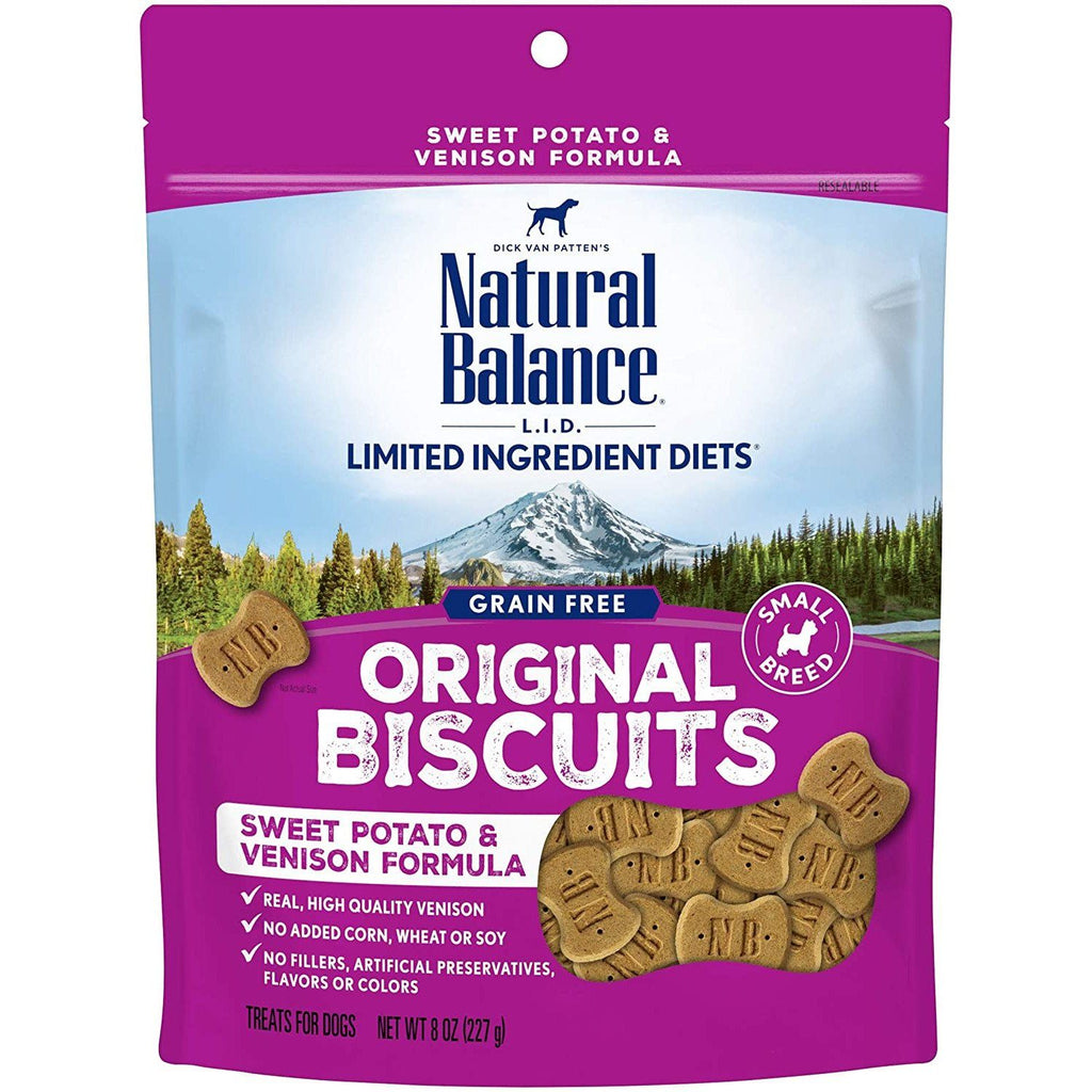 Natural Balance Dog Treats L.I.T. Potato & Venison 227g Dog Treats - PetMax