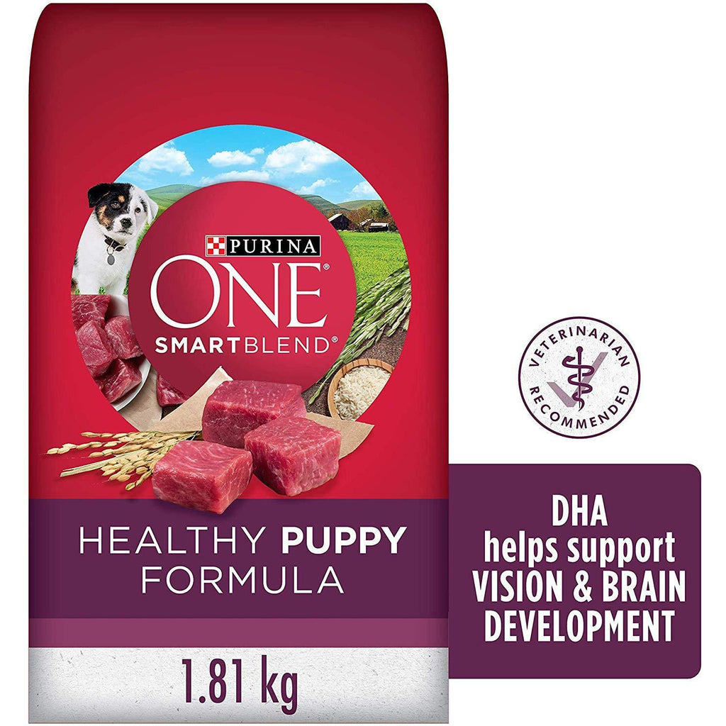 Purina ONE Smartblend Puppy Food Chicken & Rice  Dog Food - PetMax