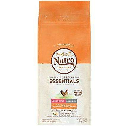 Nutro Wholesome Essentials Dog Food Senior Small Breed Chicken