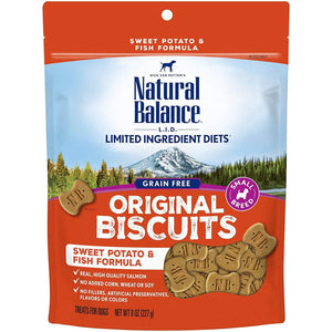 Natural Balance Dog Treats L.I.T. Potato & Fish 227g Dog Treats - PetMax