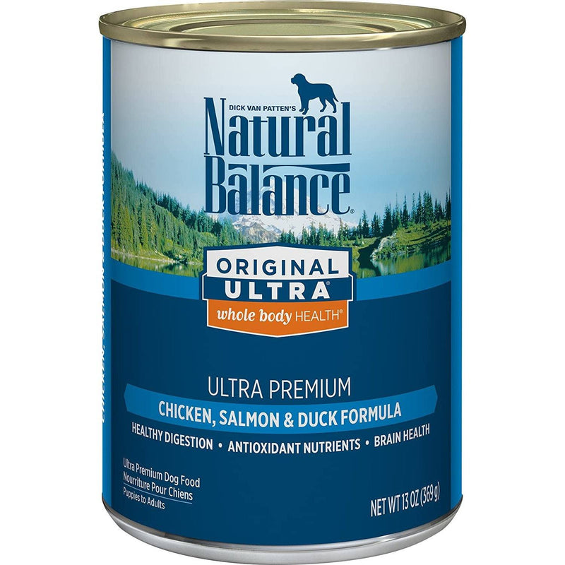 Natural Balance Canned Dog Food Ultra Premium  Canned Dog Food - PetMax