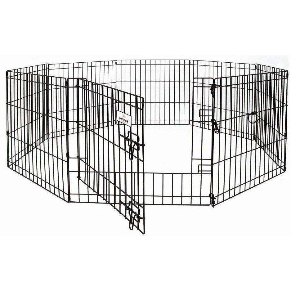 Wire Exercise Pen, Cages and Kennels, Burgham Sales Ltd. - PetMax Canada