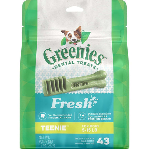Greenies Fresh Treats Teenie, Dog Treats, Greenies - PetMax Canada