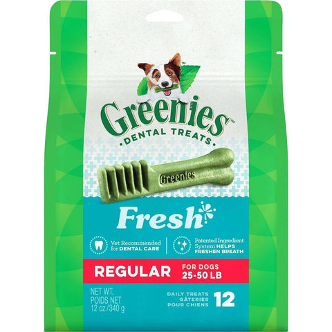 Greenies Fresh Treats Regular, Dog Treats, Greenies - PetMax Canada