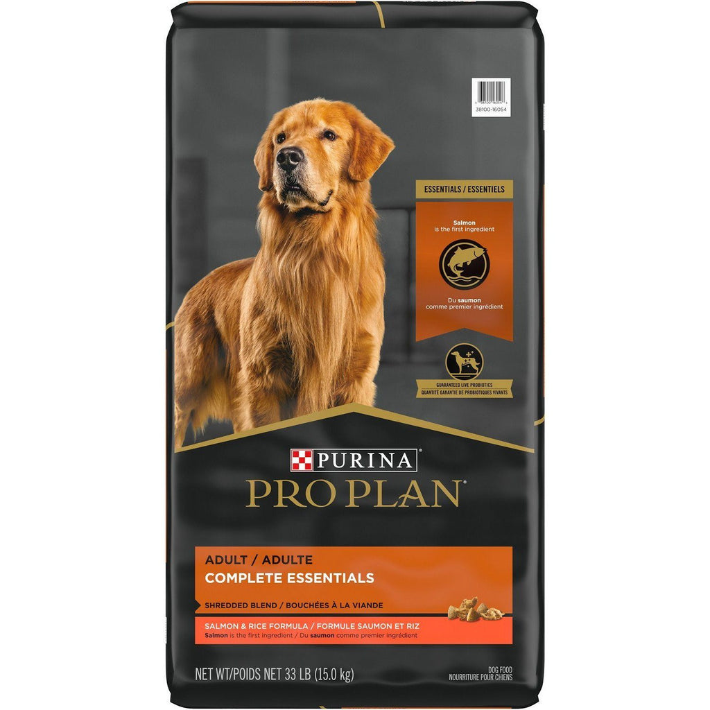 Pro Plan Dog Food Savor Shredded Sensitive Skin Salmon & Rice 15 Kg Dog Food - PetMax