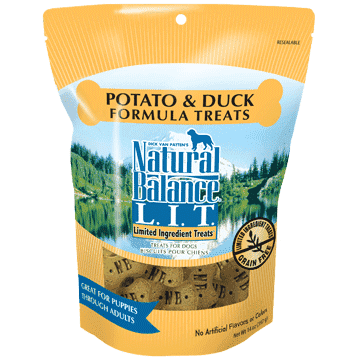 Natural Balance Dog Treats L.I.T. Potato & Duck | Dog Treats -  pet-max.myshopify.com