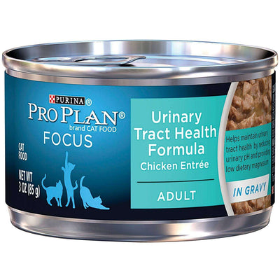 Pro Plan Focus Canned Cat Food Adult Urinary Tract Chicken, Canned Cat Food, Nestle Purina PetCare - PetMax Canada