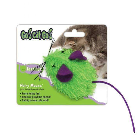 Go! Cat! Go! Mini Hairy Mouse, Cat Toys, OurPets - PetMax
