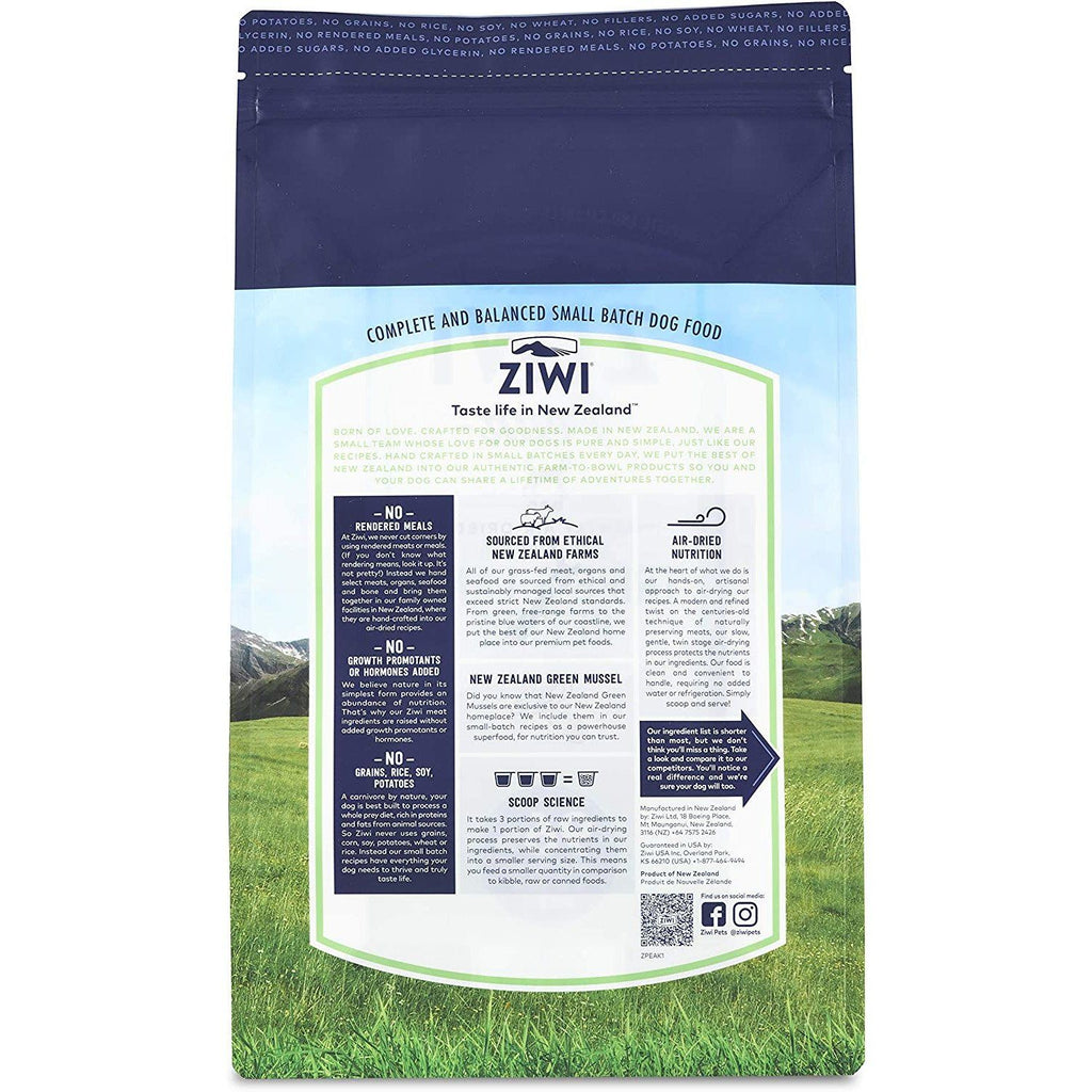 Ziwi Peak Air Dried Tripe & Lamb Dog Food  Dog Food - PetMax