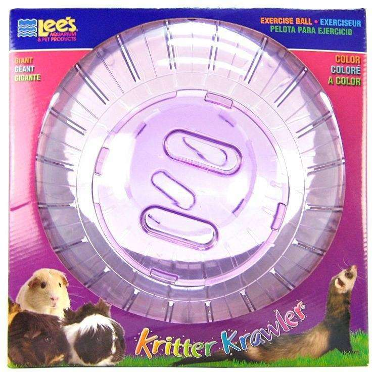 Lee's Kritter Krawler Exercise Ball Colou, Small Animal Toys, Lee's - PetMax Canada