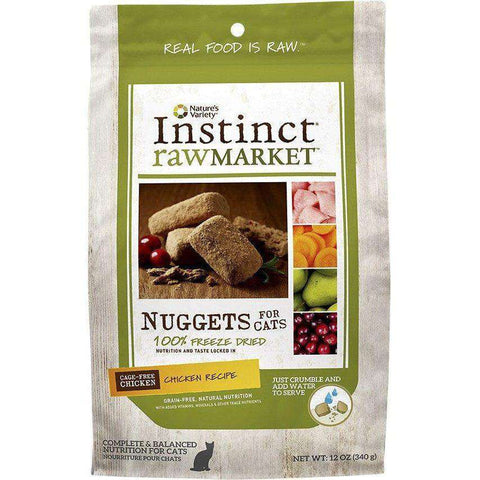 Nature's Variety Cat Raw Market Nuggets Chicken