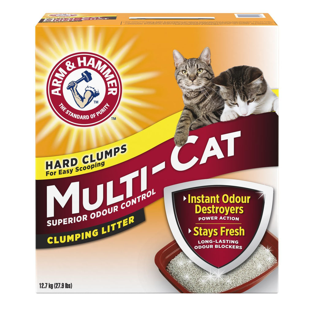 Arm & Hammer Multi Cat Fresh Scent [variant_title] [option1] | Cat Litter Arm & Hammer -  pet-max.myshopify.com