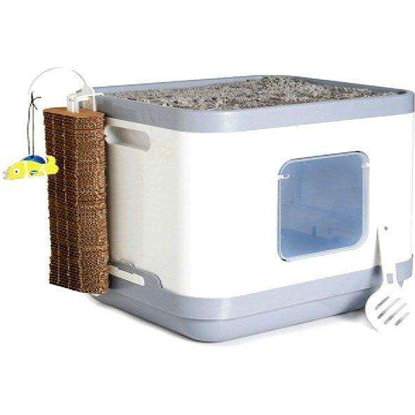 Buy Moderna Cat Concept Bed Scratcher Litter Box Online