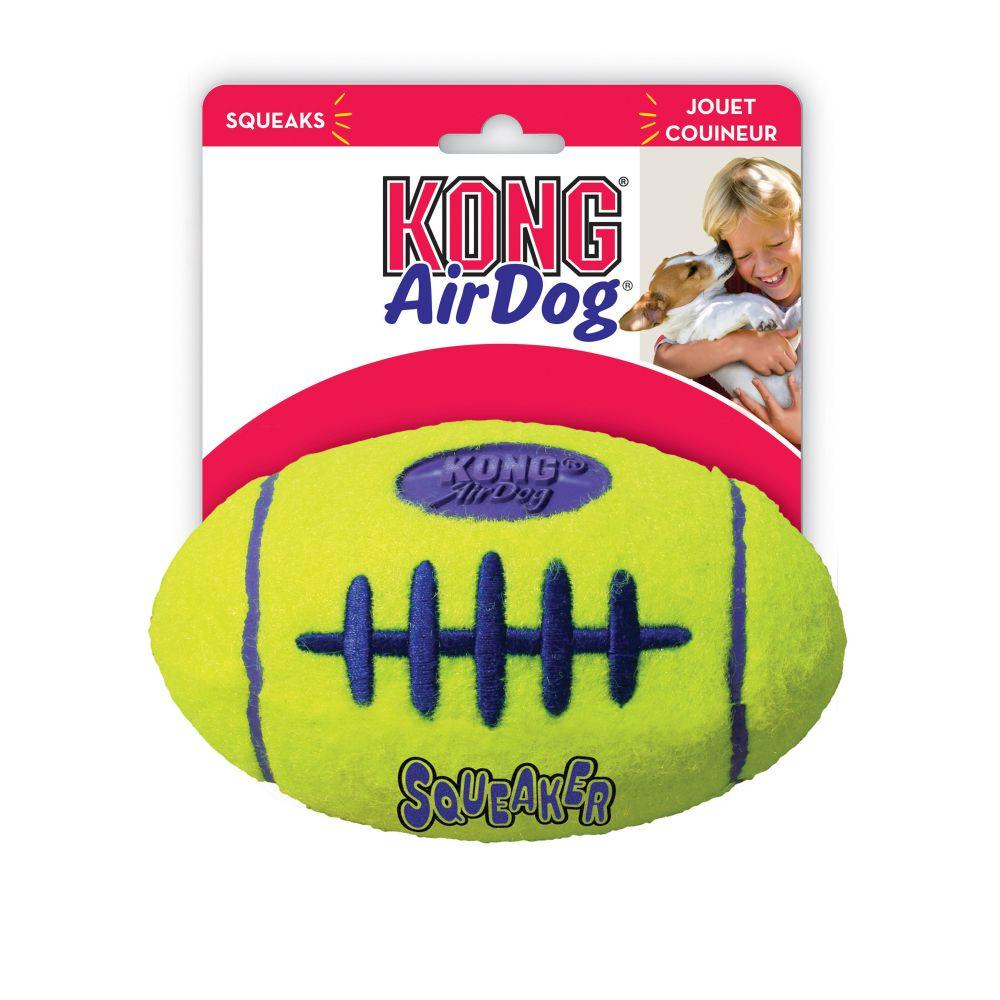 Air Kong Football  Dog Toys - PetMax