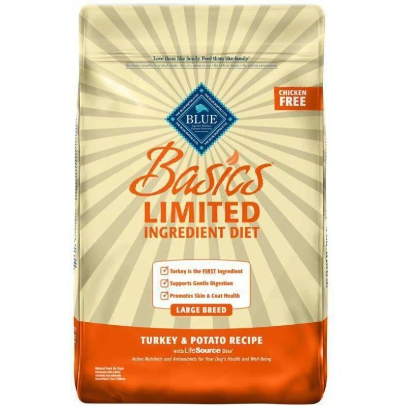 Blue Basics Large Breed Adult Dog Food Turkey | Dog Food -  pet-max.myshopify.com