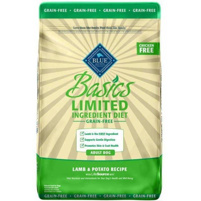 Blue Basics Adult Dog Food Grain Free Lamb & Potato | Dog Food -  pet-max.myshopify.com