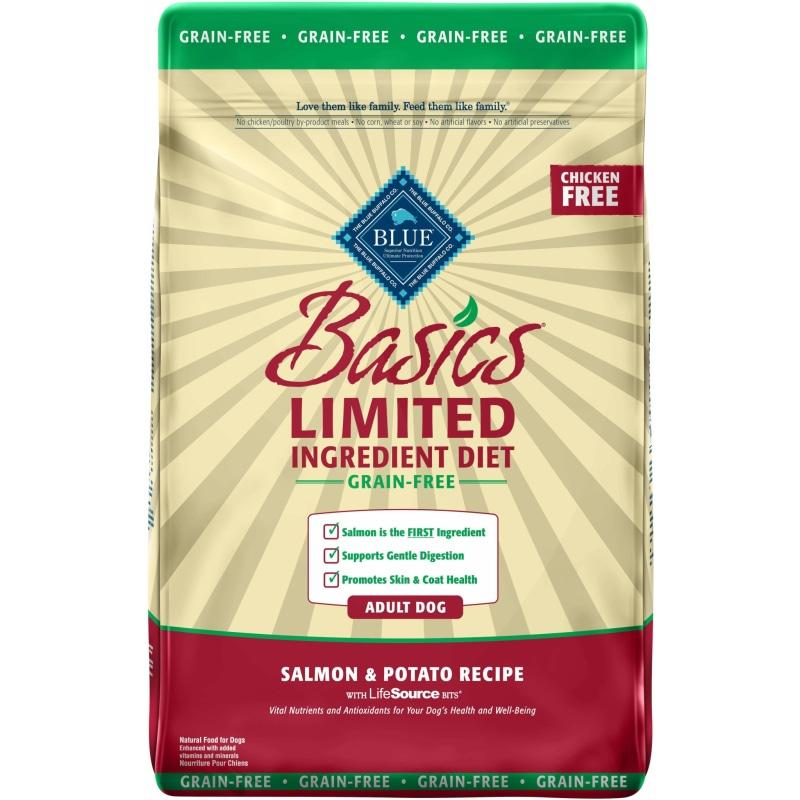 Blue Basics Adult Dog Food Grain Free Salmon & Potato | Dog Food -  pet-max.myshopify.com