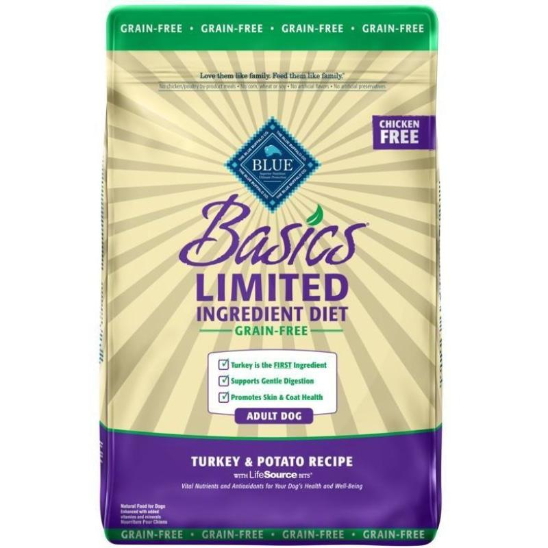 Blue Basics Adult Dog Food Grain Free Turkey & Potato | Dog Food -  pet-max.myshopify.com