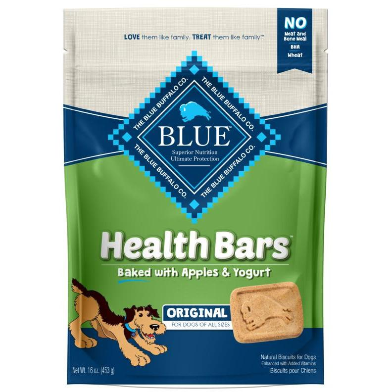 Blue Buffalo Health Bars Apple & Yogurt  Dog Treats - PetMax