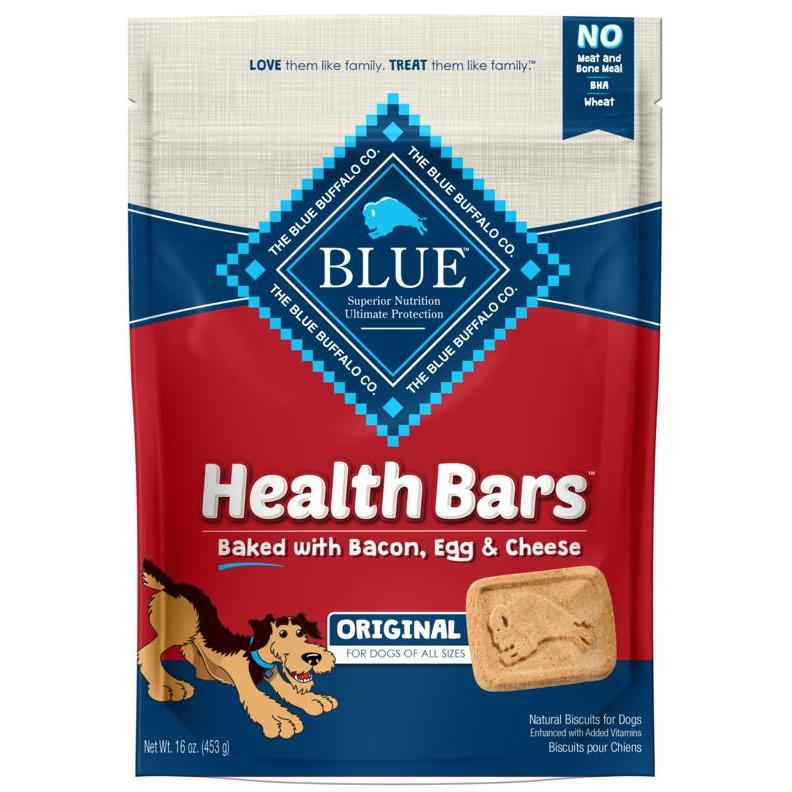 Blue Health Bars Bacon, Egg & Cheese | Dog Treats -  pet-max.myshopify.com